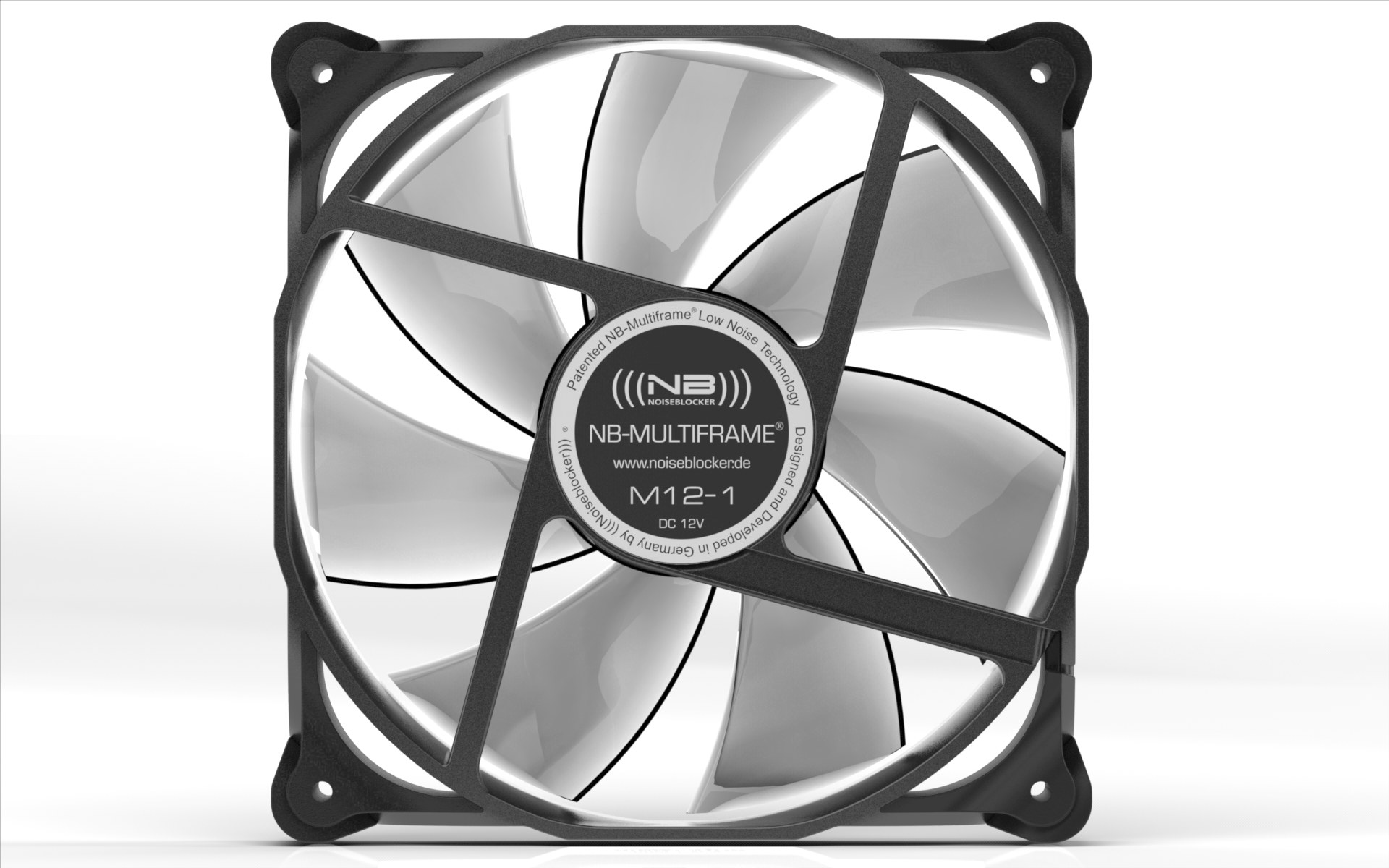 Noiseblocker Nb Multiframe S Series 120mm The G8 Electronics This Section Is Under Development We Offer A Standard Selection Of Especially Low Noise Fans In Sizes 80 X 25 Mm And 120 With Different Power Stages